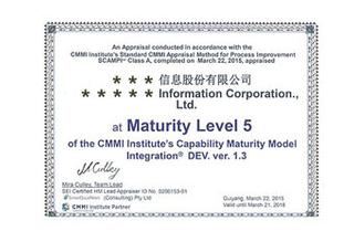 CMMI 3/4/5 軟件能力成熟度模型集成